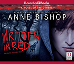 Written in Red, library edition audio book, CD